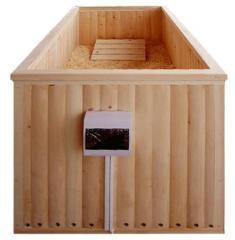 Опилочная/ Галечная японская баня офуро с электроподогревом