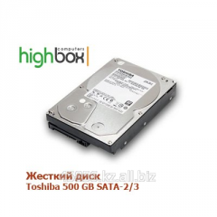 Жесткий диск Toshiba HDD 500 GB SATA-2/3 7200rpm