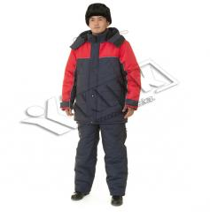 The clothes are winter, Protection against the