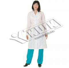 Scrubs, dressing gown physician