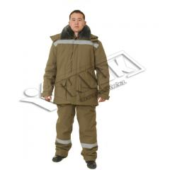 Suits protective from oil, suits protective from