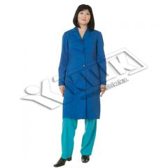 Dressing gown female kislotozashchitny Technologis