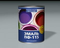 Эмаль для пола ПФ-115  2.7кг