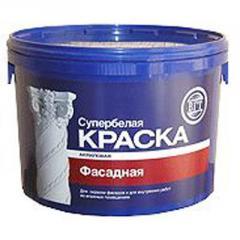 Фасадная водоэмульсионная краска 3 кг