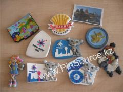 Magnets, souvenir magnet, Magnitogorsk