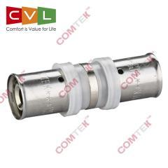 Press fittings COMTEK: coupling, elbow, tee, cone,