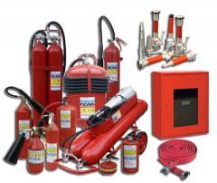Оборудование пожарное