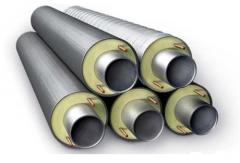 Heat-hydro-insulated pipes