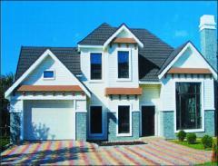 The fast-built frame houses Astana, Almaty, Aktau,