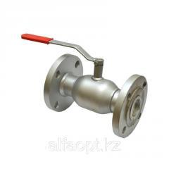 Кран стальной шаровый шар-нерж.сталь Ду 20/ 15 PN40 фланцевый 150мм, Seagull