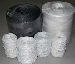 Polypropylene twine hay knitting.