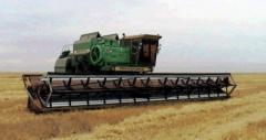Harvesters hinged Don Mar, Kazakhstan, Kostanay