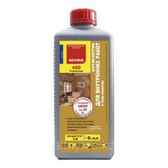 Антисептик для внутренних работ Neomid 400 1 литр