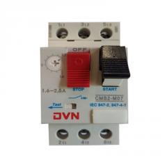 Автомат защиты двигателя CMB2-M07, 1.6-2.5A