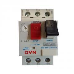 Автомат защиты двигателя CMB2-M10, 4-6.3A