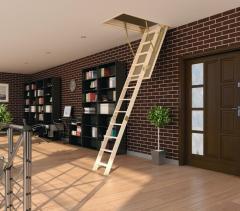 Garret stairs