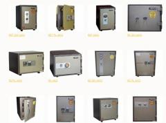 Metal cases and safes, cases safe, Almaty, Astana