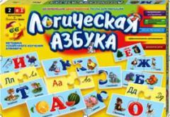 Игры настольные детские, логическая азбука