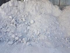 Гипсовый камень 1-2сорт фракция 0-300мм