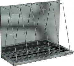 Shelves for cafe, restaurant kitchens