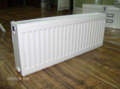 Radiator steel panel heating RSPO lower connection