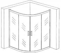 Cabins shower BL018