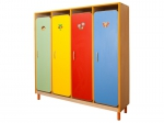Furniture for kindergartens and the equipment for