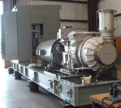 Installations are gas-turbine, system of dry
