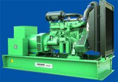 Diesel generating installations, Generators