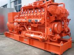 Gas-piston generating installations, Generators