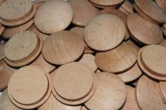 Caps wooden pine, beech, ash-tree, oak