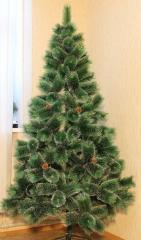 Искусственная елка на новый год, высота 1,5 м