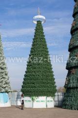Уличная искусственная каркасная сосна Уральская (хвоя-леска), высотой 13 м