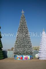 Уличная искусственнаяствольнаясосна Уральская (хвоя-леска), высотой 14 м