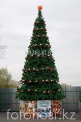 Уличная искусственнаяствольнаясосна Уральская (хвоя-леска), высотой 6 м