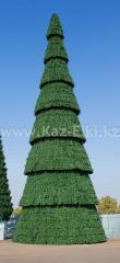 Уличная сегментная ель каркасного типа высотой 16 метров для площади