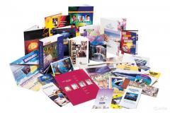 Визитки ▪ Листовки ▪ Флаеры ▪ Буклеты  ▪ Брошюры ▪ Блокноты ▪ Календари ▪ Открытки ▪ Пригласительные