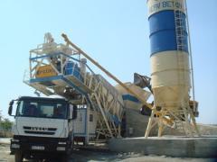 BSU to Almaty, the betonosmesitelny GÜR