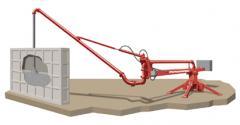 Стрелы распределительные для подачи бетона
