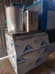 Чешуйчатый льдогенератор 1000кг