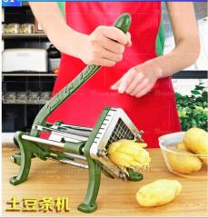 Apparatus for cutting potatoes