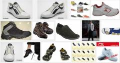 Man's sports shoes