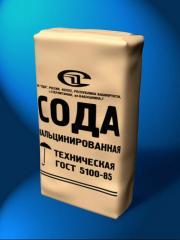 The soda calcinated Karaganda