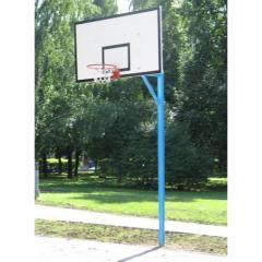Баскетбольная стойка 1 пара(2шт) H=3500м 1200*800