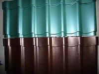 Green Metallik metal tile