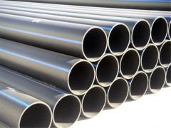 Polyethylene pipes for a water supply system