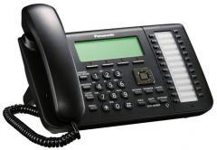 KX-NT546RU-B IP системный телефон, 6-строчный LCD