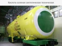 Кислота соляная синтетическая техническая ГОСТ