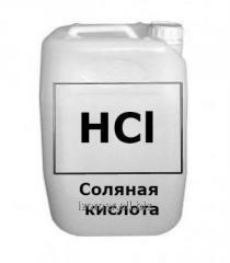 Hydrochloric acid reactive, chemically pure GOST