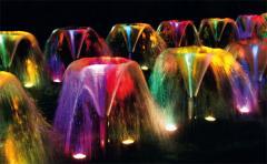 Светильники подводные для фонтанов